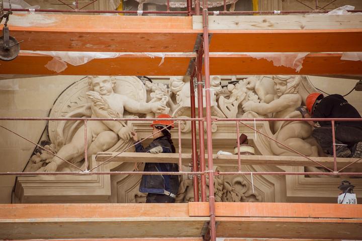 Elkészült a Budavári Palota első helyreállított épületrésze