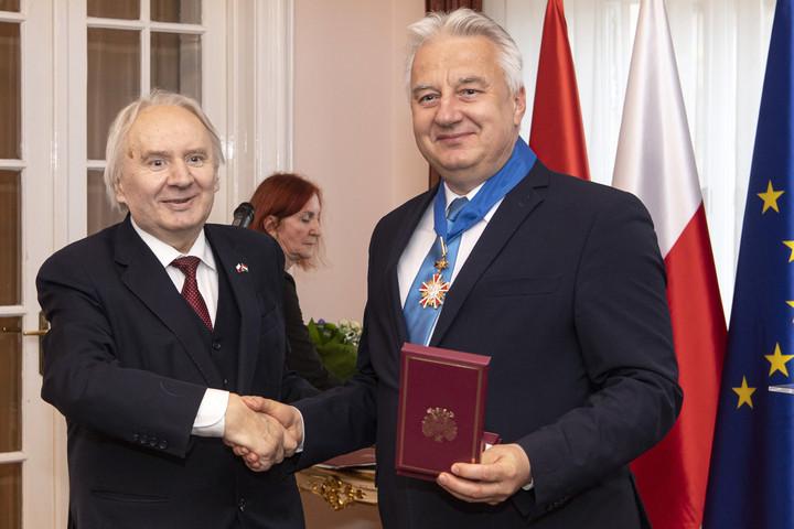 Magas lengyel állami kitüntetést kapott Semjén Zsolt