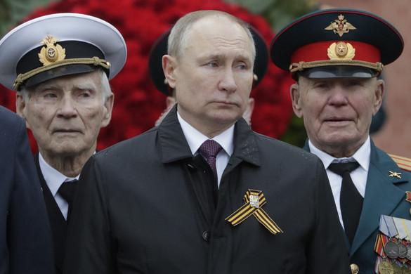 Putyin: Nincs bocsánat azoknak, akik elfelejtették a második világháború tanulságait