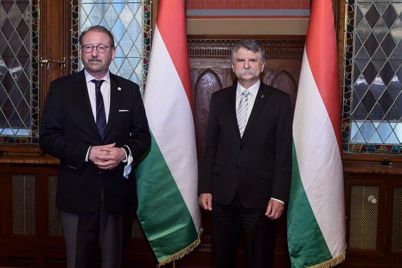 Budapesten tárgyalt az Európa Tanács parlamenti közgyűlésének elnöke