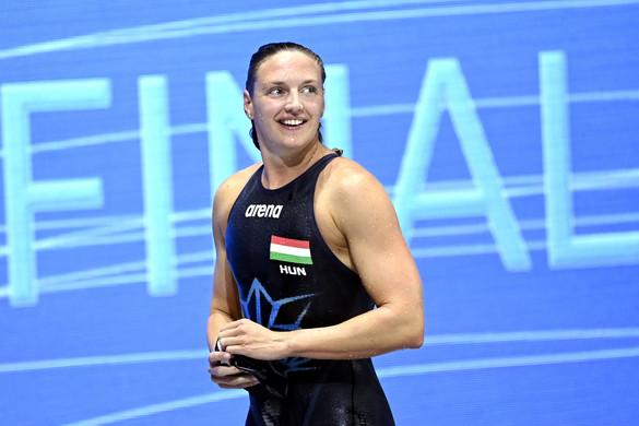 Hosszú Katinka Európa-bajnok lett 400 méter vegyesen