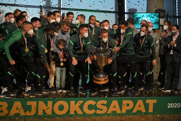 Labdarúgó NB I: Pontrekordot állított fel a bajnok Ferencváros