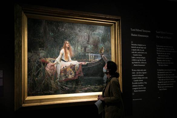 Preraffaelita remekművek a Magyar Nemzeti Galériában