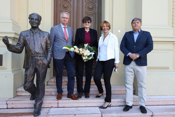 Szeged díszpolgára lett Karikó Katalin