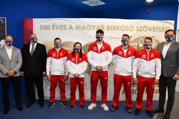 Németh Szilárd köszöntötte az olimpiára kijutott birkózókat