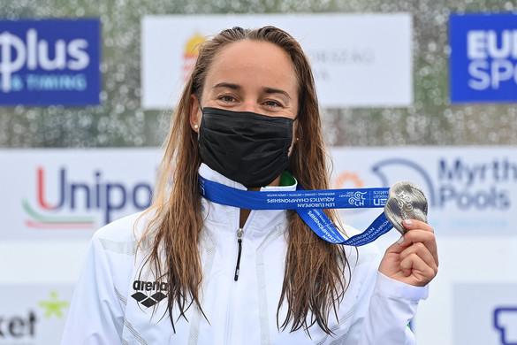 Vizes Eb: Olasz Anna ezüstérmet nyert nyíltvízi úszásban