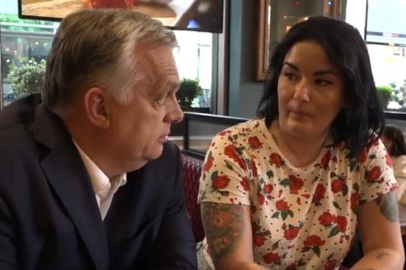 Londonban élő magyarokkal találkozott Orbán Viktor