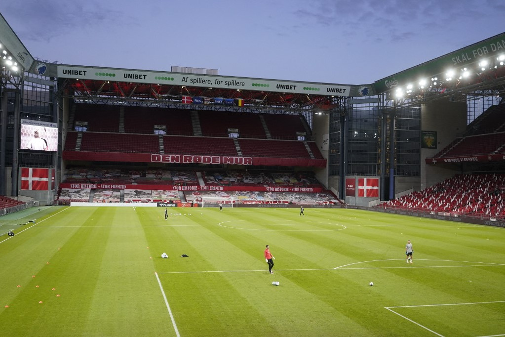 A koppenhágai Parken Stadion