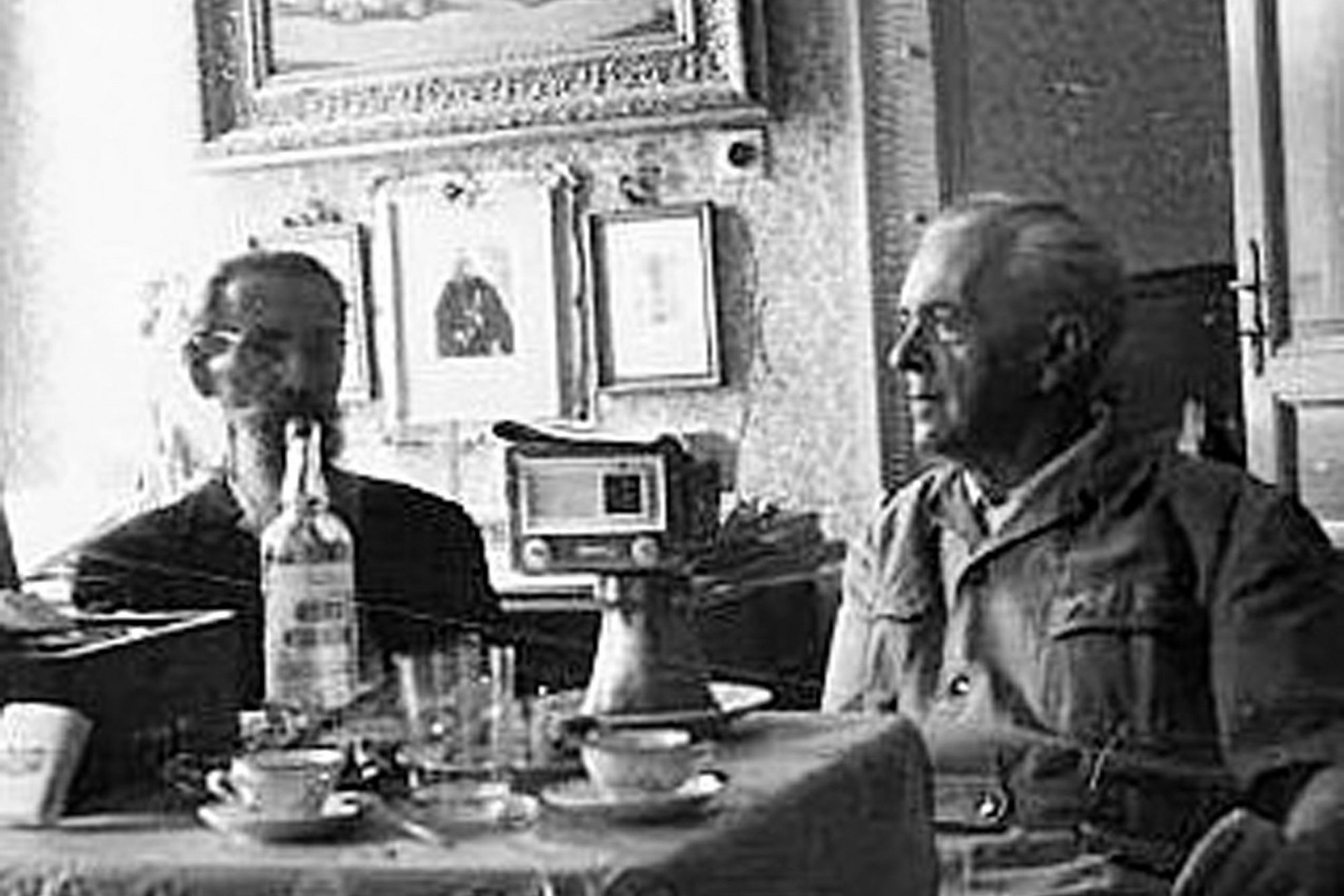Grábócon 1960 körül Babity Alexej konyhájában