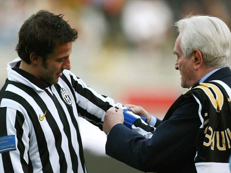 Előttem az utódom: Boniperti köszönti a gólrekordját megdöntő Alessandro Del Pierót