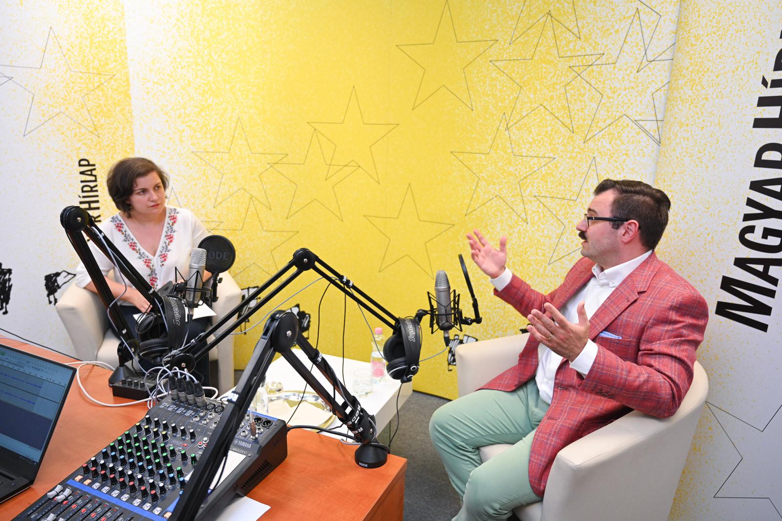 Lapunk főmunkatársa, Őry Mariann és Szánthó Miklós, az Alapjogokért Központ igazgatója a Faktumban