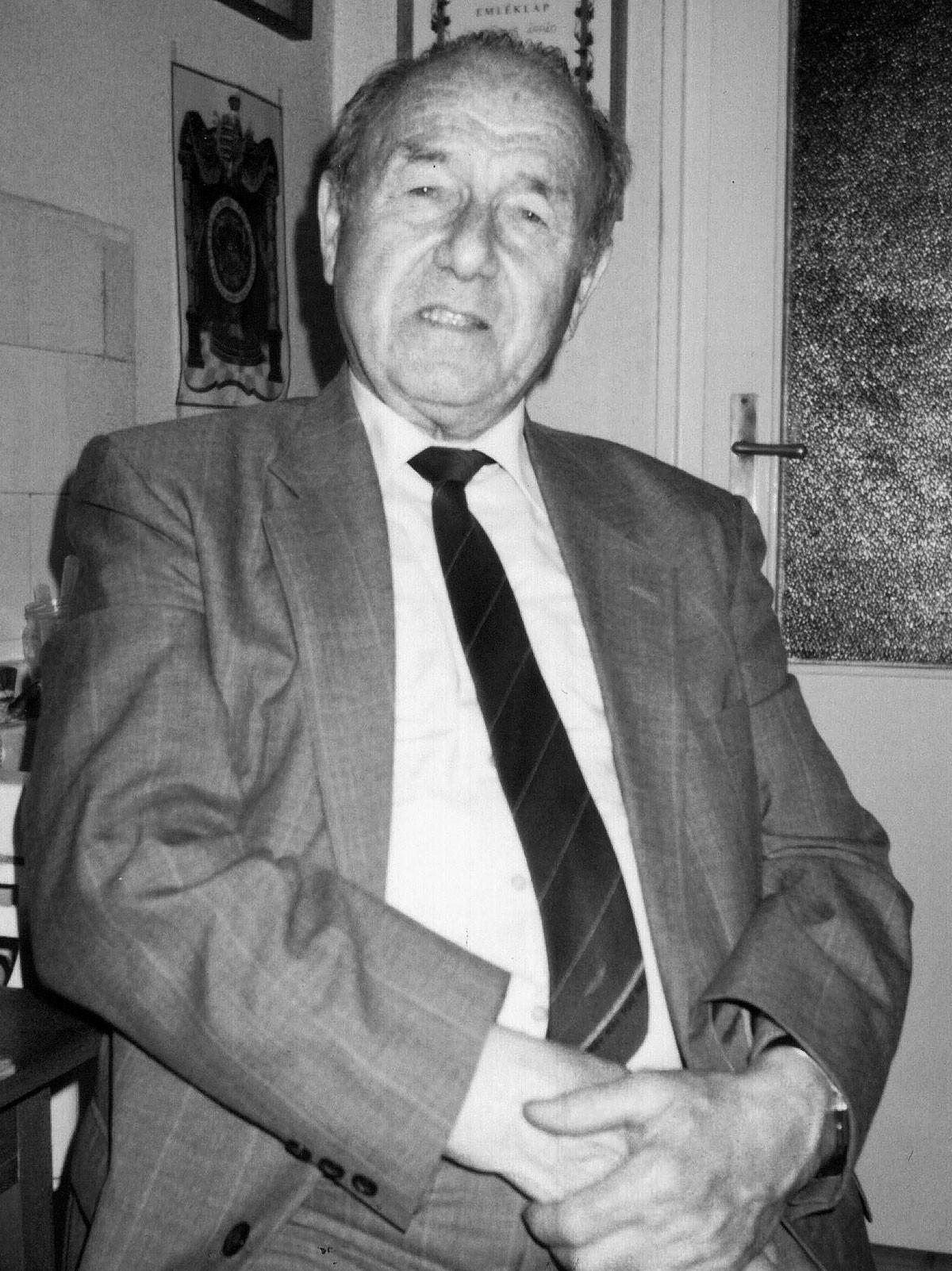 Az egykori záhonyi állomás-főnök Oslóban, a kitüntetése átvétele után