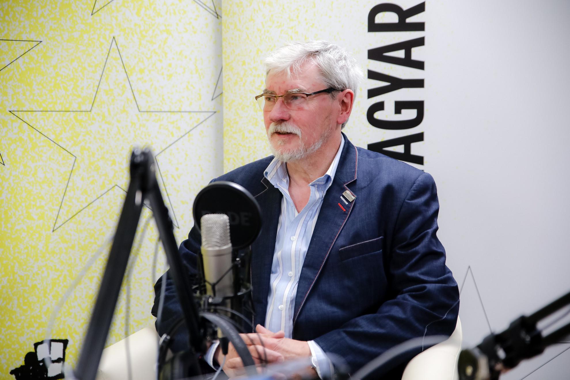 Szakály Sándor, a VERITAS Történetkutató Intézet és Levéltár főigazgatója a Faktumban