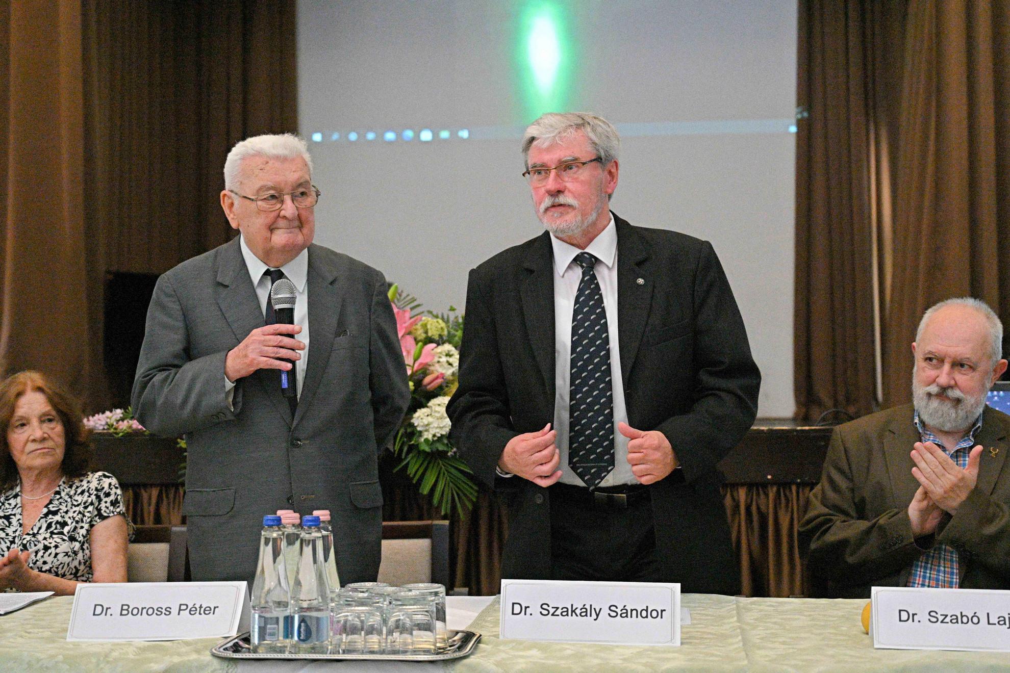 Boross Péter és Szakály Sándor