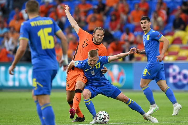 Hihetetlen fordulatok a holland-ukrán meccsen
