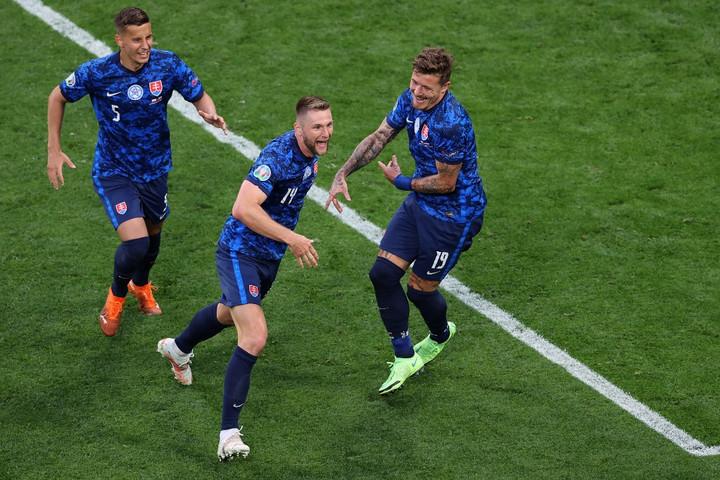 Szlovákia nyerte a közép-európai rangadót