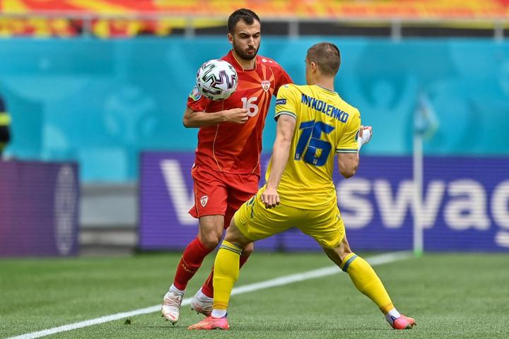 Nagyszerű meccsen nyert Ukrajna Észak-Macedónia ellen