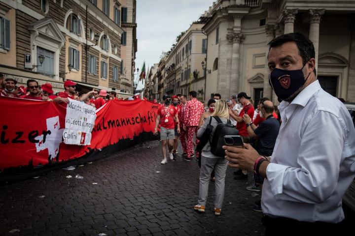 Salvini is gratulált a magyar válogatottnak