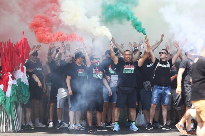 Ismét elképesztő Eb-hangulatot varázsoltak magyar szurkolók