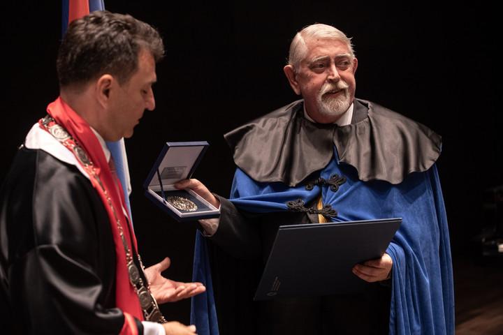 Díszdoktori címet kapott Kásler Miklós az Újvidéki Egyetemen