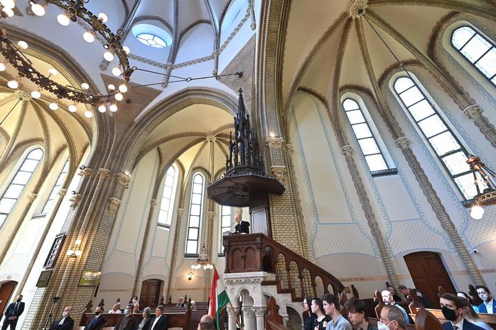 Megújult a Szilágyi Dezső téri református templom