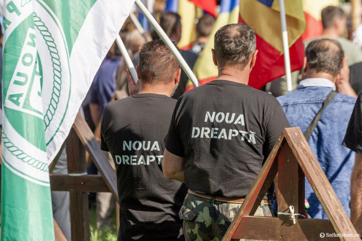Román szélsőségesek tartottak megemlékezést az úzvölgyi katonatemetőben