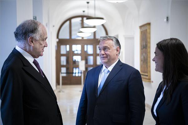 Orbán Viktor a Zsidó Világkongresszus elnökével tárgyalt
