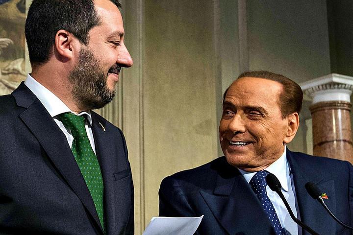 Berlusconi és Salvini közös jobboldali erő megszületésén dolgozik