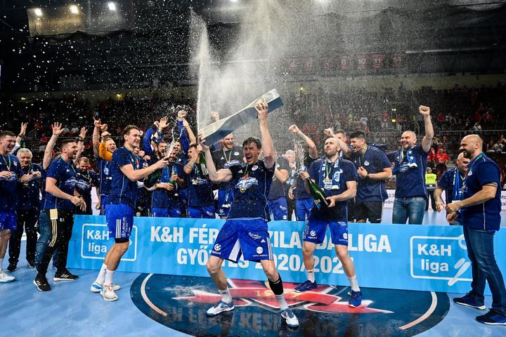 Kézilabda: Kettős győzelemmel bajnok a MOL-Pick Szeged
