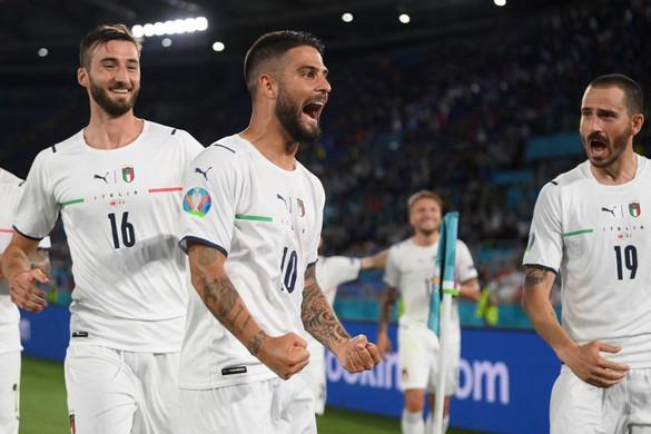 Magabiztos sikerrel kezdték az olaszok az Eb-t