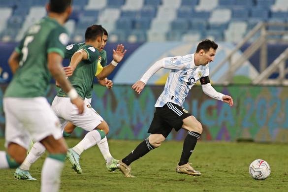 Lionel Messi immár argentin rekorder is