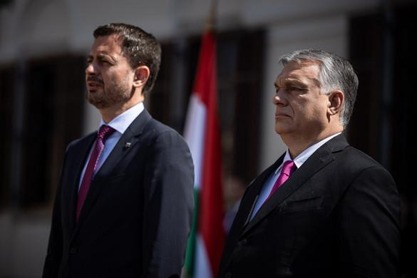 Orbán: Soha nem voltak még ilyen jók a kapcsolatok Szlovákiával