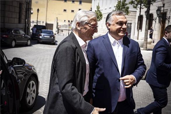 Orbán Viktor a korábbi osztrák kancellárral tárgyalt