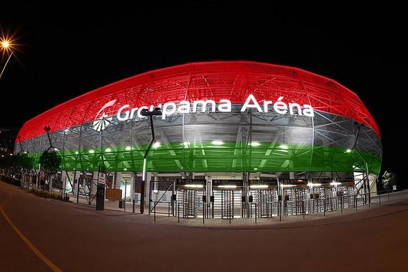 Nemzeti színekbe borítják a Fradi stadionját a német-magyar meccs idejére