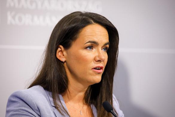 Novák Katalin: Az EP-ben statáriális döntést szeretnének elérni