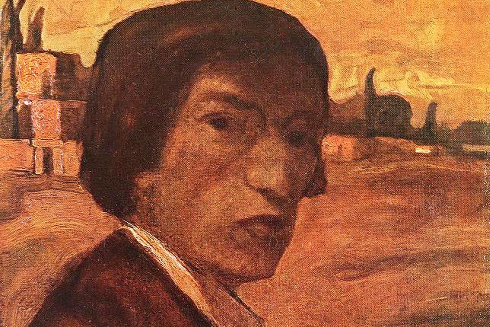A festő önarcképe
