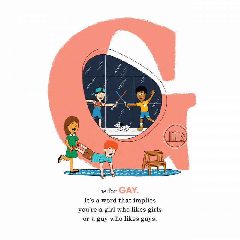 A könyvben a G jelentése GAY. A szó, amely magában foglalja, hogy lány vagy és a lányokat szereted vagy fiú vagy és a fiúkat szereted