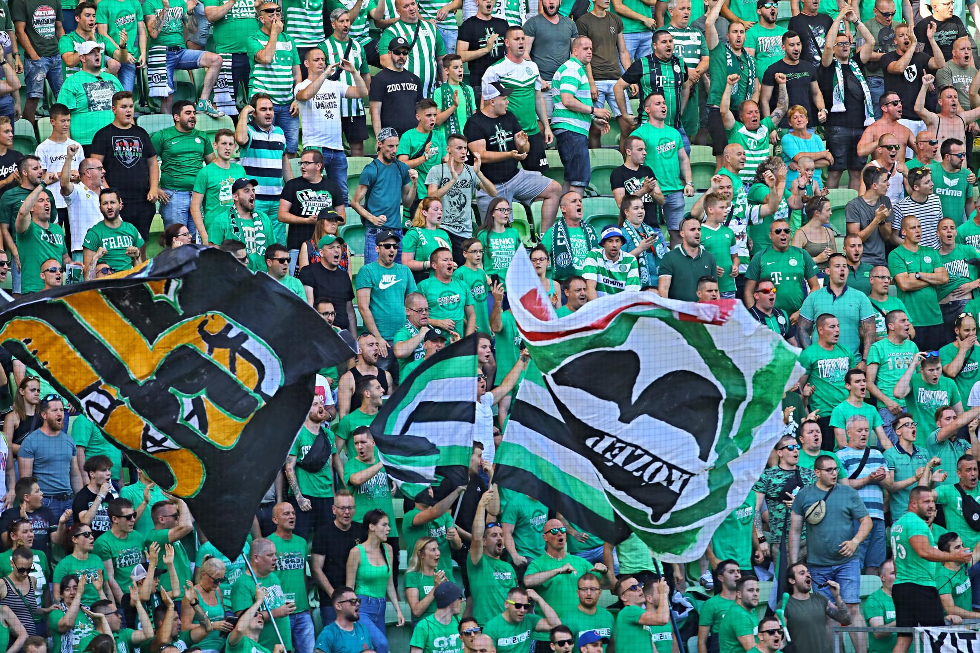 Magabiztos előnnyel várhatja a jövő keddi visszavágót a Ferencváros