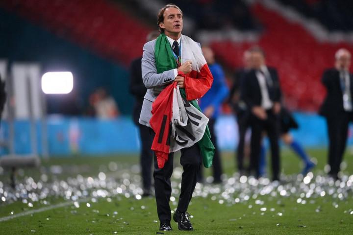 Mancini: Az olasz nép megérdemli ezt a sikert