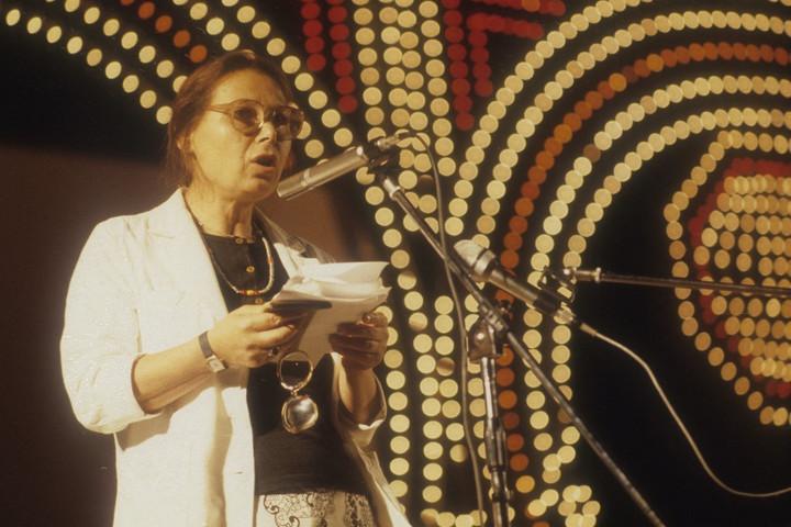 Bruck Edith lett az olasz nyelvművelő Dante-társaság alelnöke