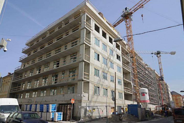 Élénkült a lakásépítés az első fél évben
