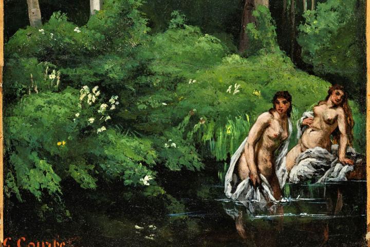 Hetvenöt év után hazakerült Gustave Courbet festménye