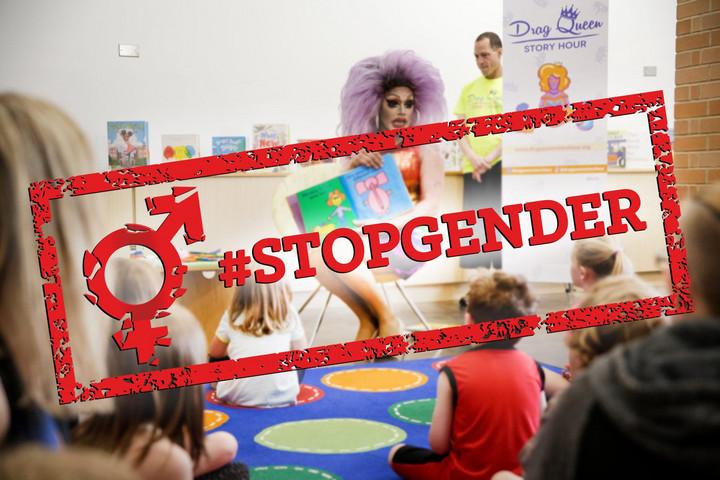 """""""Gyermekvédelem igen, genderideológia nem!"""""""