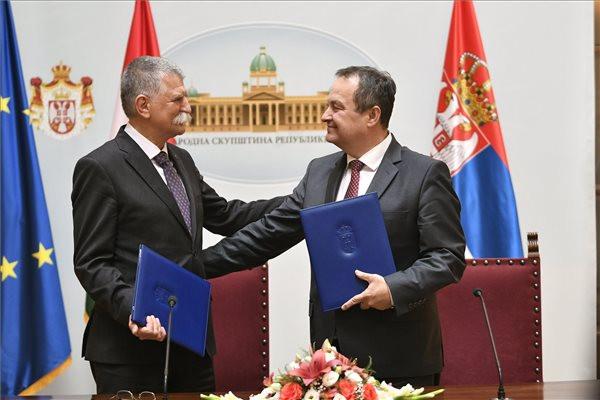 """""""Szerbia és Magyarország közötti jó kapcsolat a közös érdekeken alapul"""""""