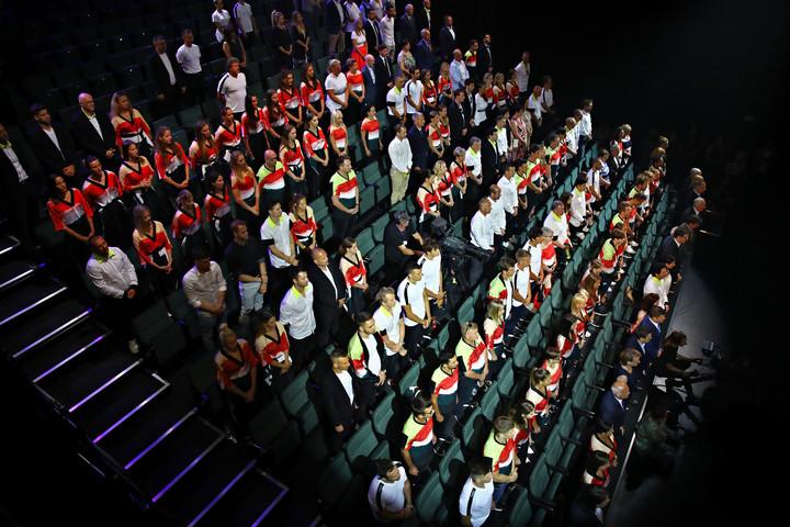 Letették az esküt a magyar olimpikonok