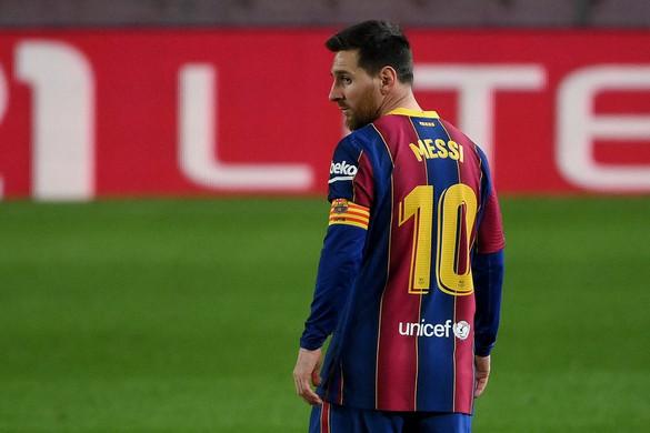Messi szerződése lejárt a Barcelonánál