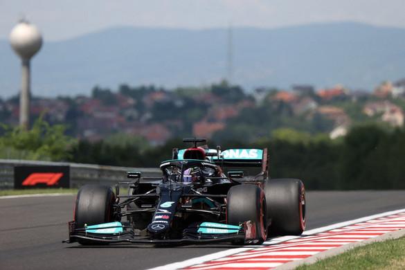 Hamilton indulhat az élről a Magyar Nagydíjon