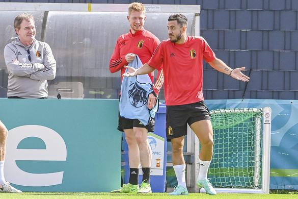 De Bruyne és Eden Hazard felépülésében bíznak a belgák