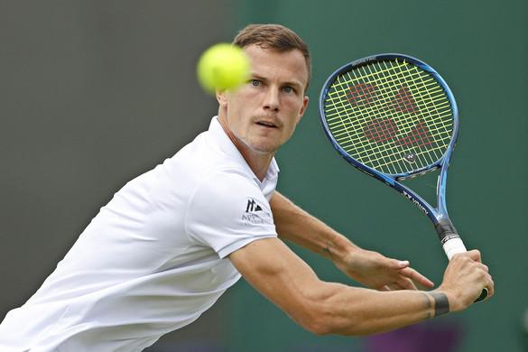 Negyeddöntős Fucsovics Márton Wimbledonban