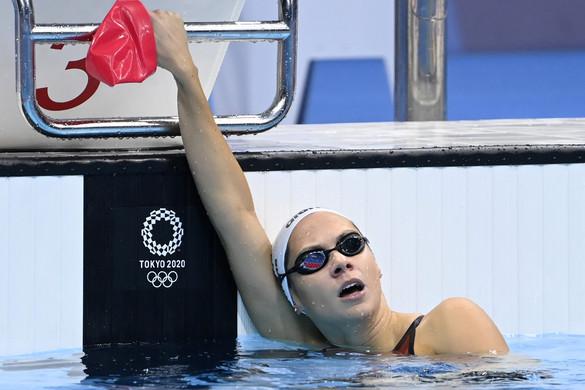Kapás Boglárka olimpiai negyedik 200 méter pillangón